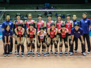 全日本女子バレーユースチーム